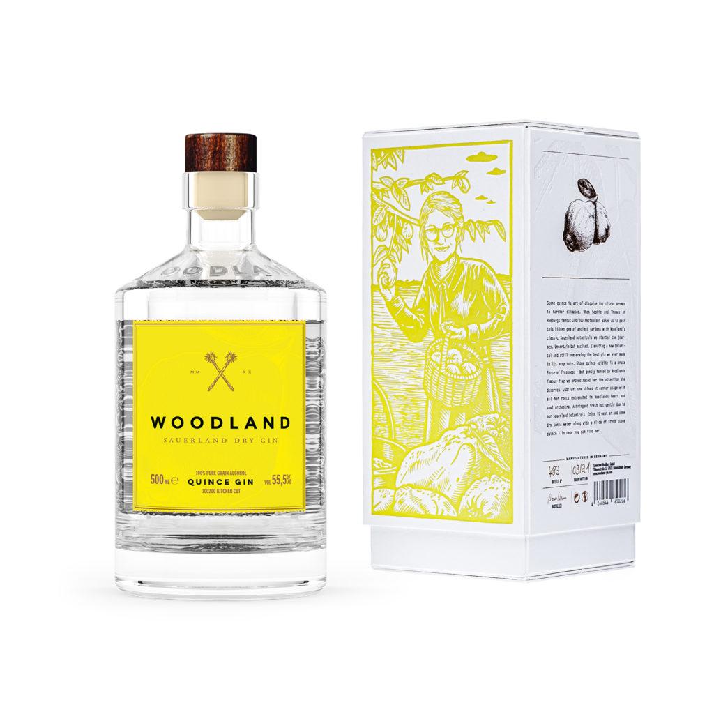 Woodland x 100200 Quitten Gin