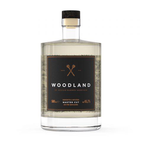 Woodland Sauerland Dry Gin Master Cut Flasche