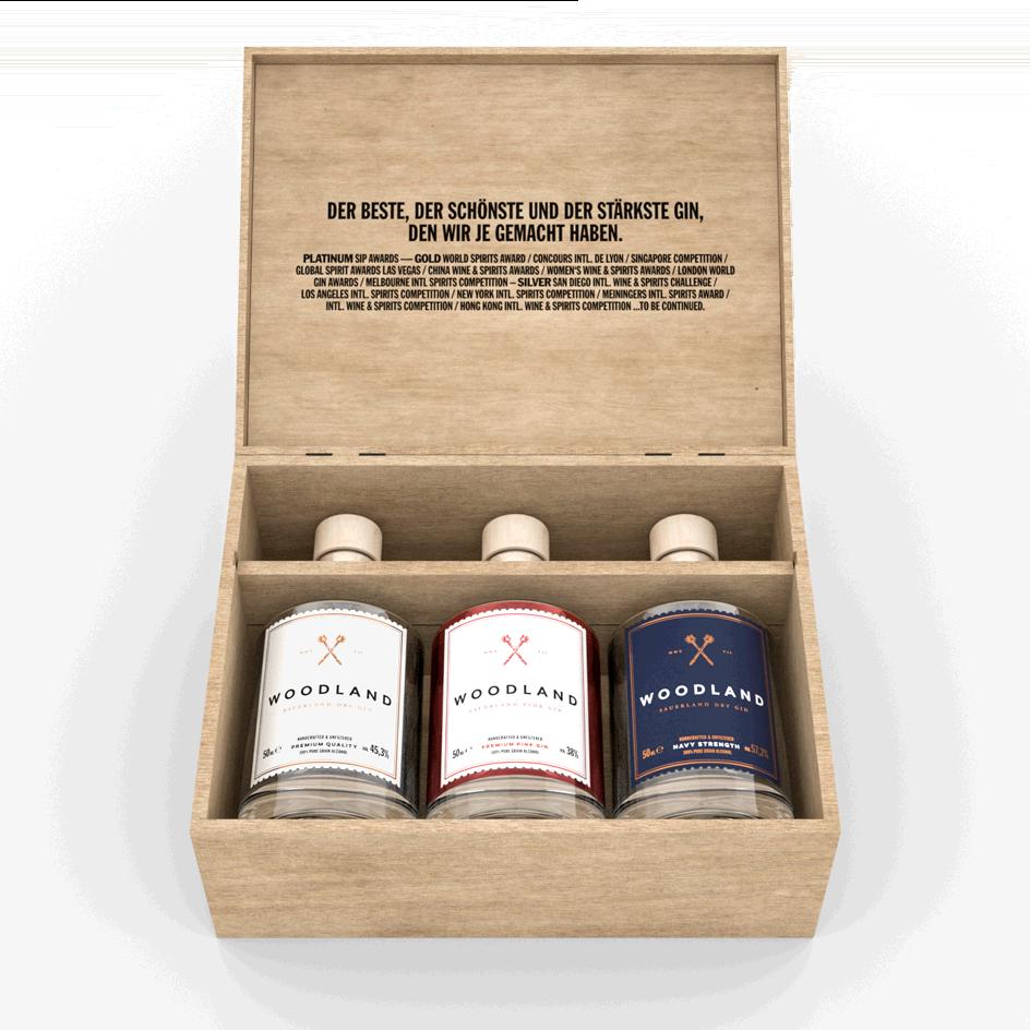 Woodland Triple Mini Box