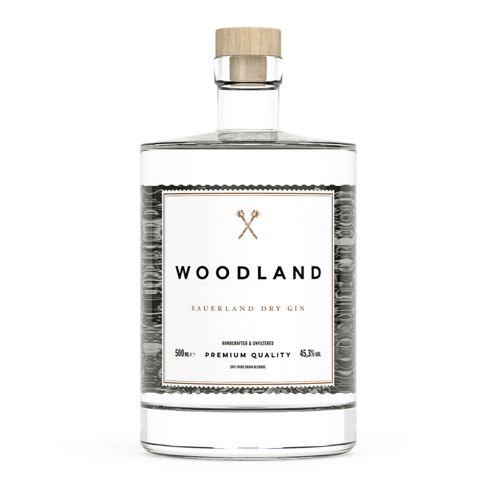 Woodland Gin Bottle