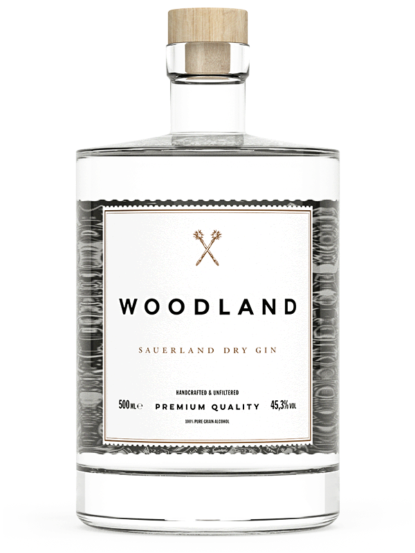 Woodland Sauerland Dry Gin Bottle
