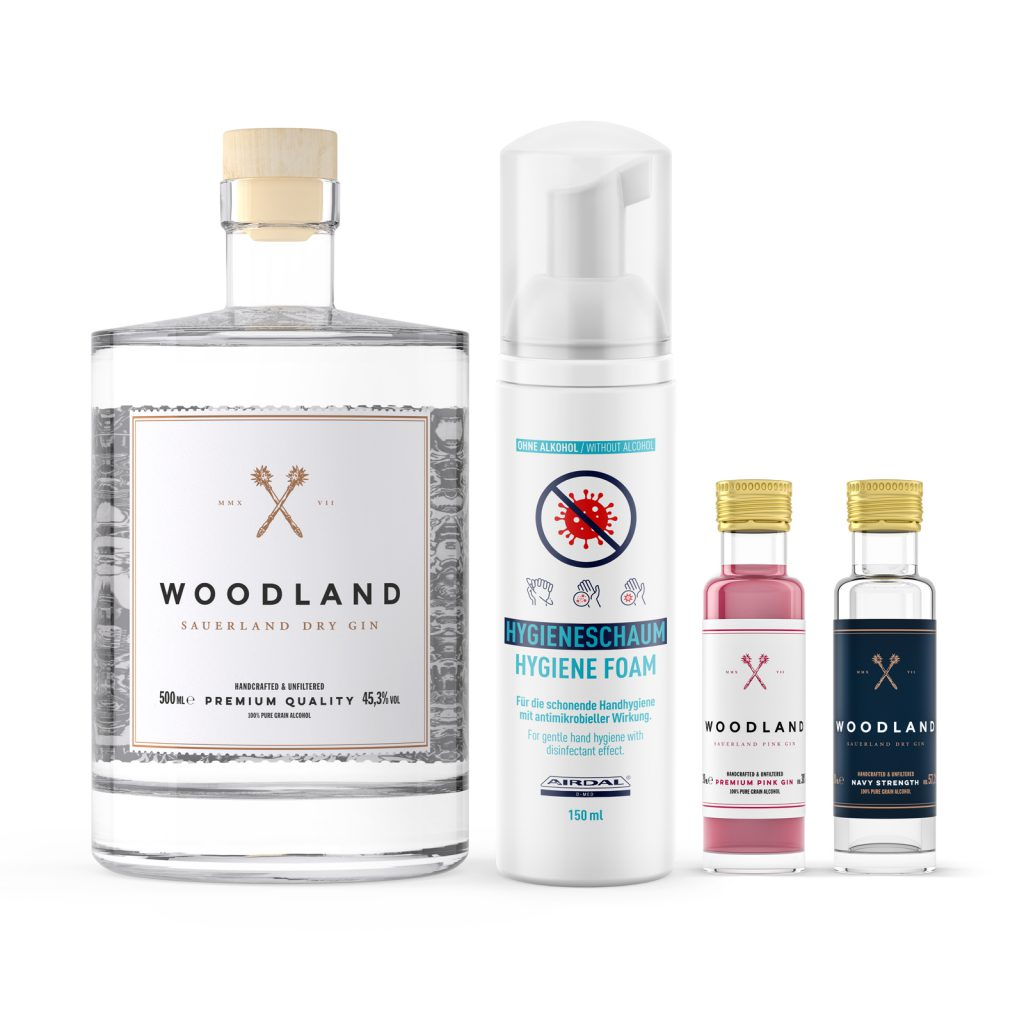 Woodland Premium Desinfektions-Bundle