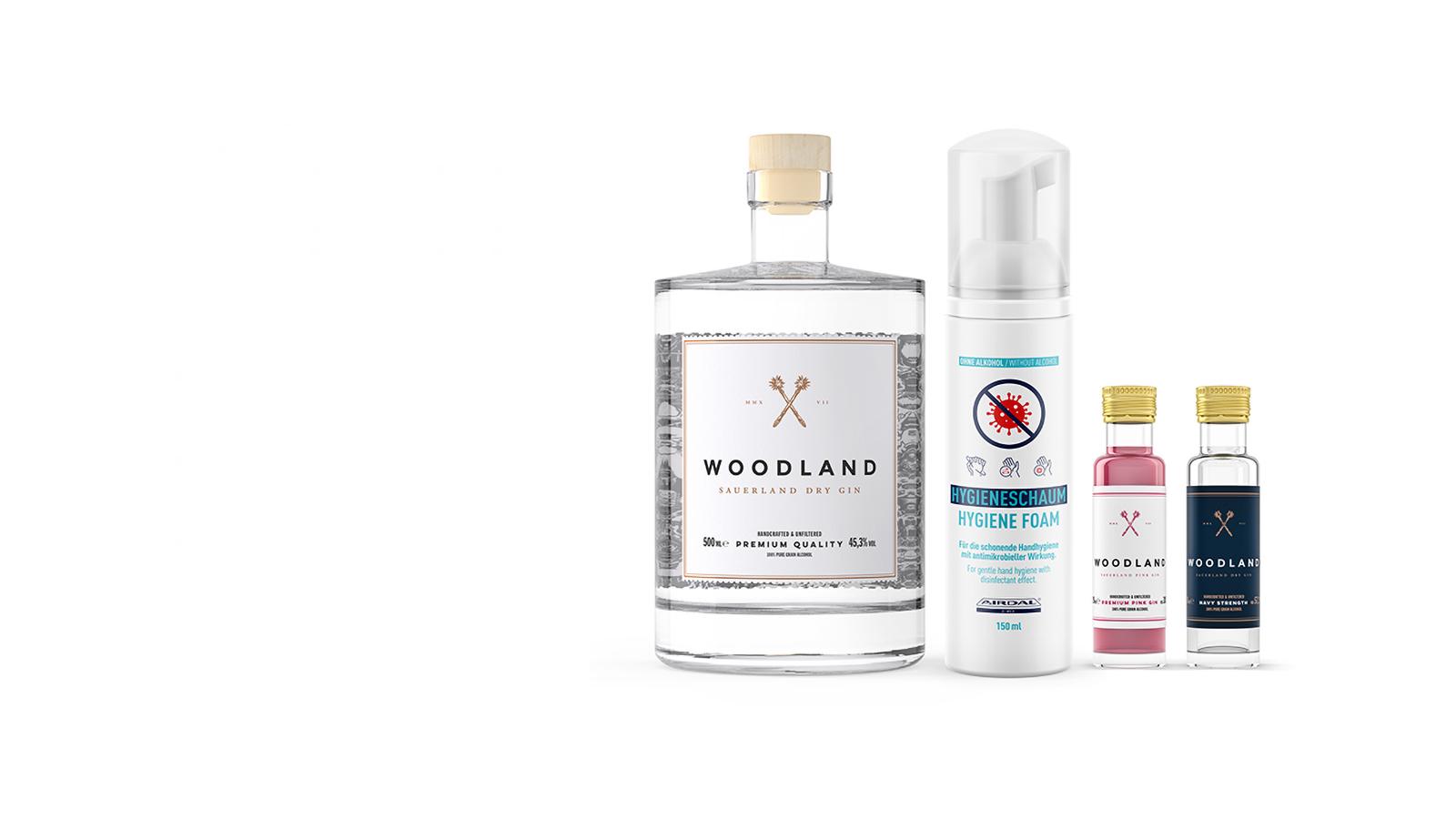 Woodland Ginfection Bundle